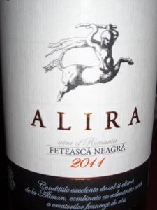 Alira Feteasca Neagra 2011
