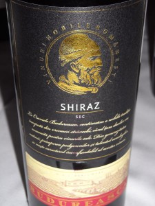 Budureasca Shiraz 2012