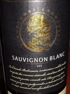 Budureasca Sauvignon Blanc 2013