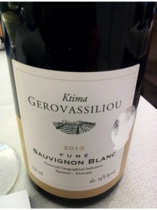 Sauvignon Blanc Fume 2013 Gerovasiliou