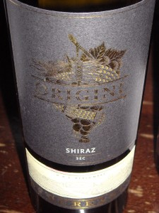 Budureasca Origini Shiraz 2012