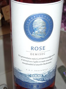 Budureasca Rose demisec 2015
