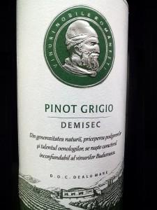 Budureasca Pinot Grigio 2015