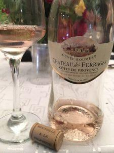 oenolog.ro Chateau des Ferrages Cuvee Roumery Rose Cotes des Provences