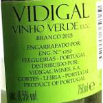 Vidigal Vinho Verde 2015