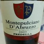 Montepulciano D'Abruzzo Predella 2009
