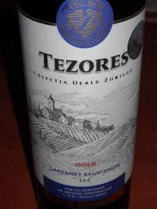 Tezores Cabernet Sauvignon 2012