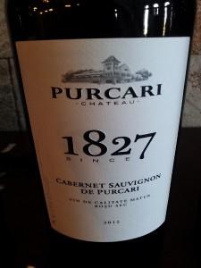 Purcari Cabernet Sauvignon 2012