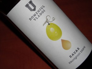 Domeniul Vladoi Sauvignon Blanc 2014