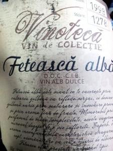 Cotnari Feteasca Alba 1998
