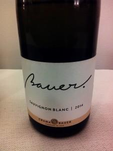 Bauer Sauvignon Blanc 2014