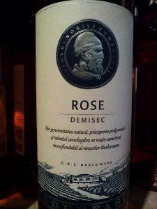 oenolog.ro Budureasca Vin Roze 2015