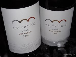 oenolog.ro wine Assyrtiko Gaia 2014 wild ferment