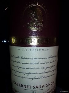 oenolog.ro Budureasca Cabernet Sauvignon 2013 vin rosu sec Dealu Mare