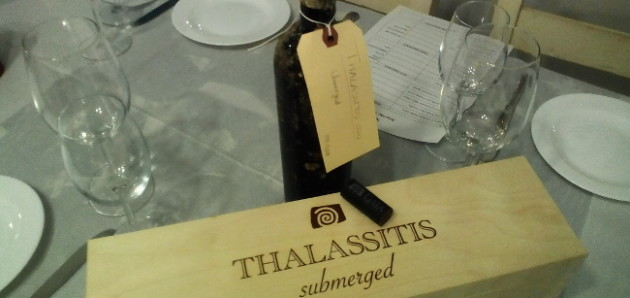 Thalassitis 2010 Submerged Wine In Assyrtiko Master Class